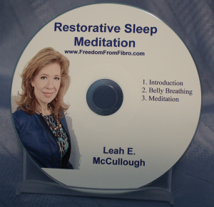 Restorative Sleep meditation Fibromyalgia 3D Fibromyalgia Healing TeleClass RS CD
