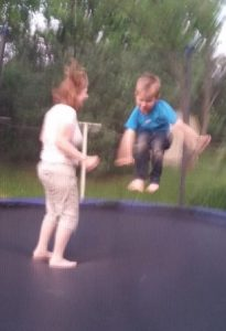 Jumping with my Son this summer Summer You're Not Going to Believe the Summer I Had Jumping with my Son