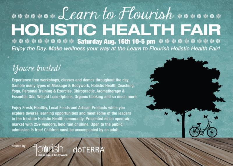 Holistic Health event  Where's Leah? Holistic Health event
