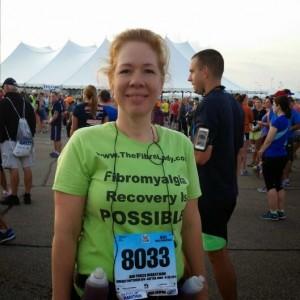 Success -The Training paid off!  A Marathon Miracle -Training for a Half Marathon leah runs the Air Force Marathon