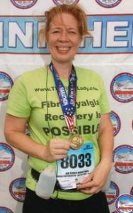 Run half marathon fibro free  A Mission of Recovery #FibroFree run a half marathon