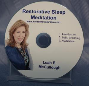 Restorative Sleep meditation Fibromyalgia 3D Fibromyalgia Healing TeleClass RS CD