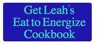 Get Energy with the Eat to Energize Cookbook energy Get More Energy Naturally Eat to Energize Button